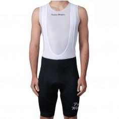 Mafia Mens Core Black White Logo Pedal Bib Shorts