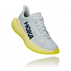 Hoka One One Carbon X 2 Shoes White Lima SS21
