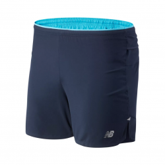 New Balance Impact run 5 '' shorts Navy blue