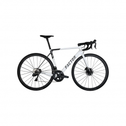 Factor O2 Force eTap AXS Bicycle Pearl White