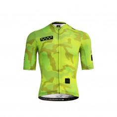 Pedla PopCAMO LunaLUXE Jersey Neon Yellow