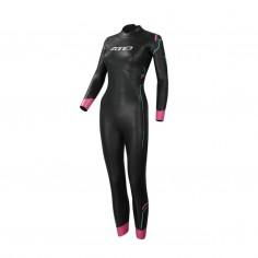 Zone3 Agile Wetsuit Black Pink Woman