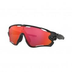 Oakley Jawbreaker Matte Black Goggles - Prizm Trail Torch Lenses