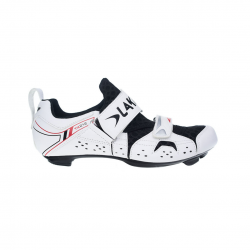 Zapatillas Lake Triatlon TX212 Negro Blanco