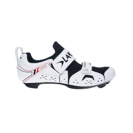Zapatillas Lake Triatlon TX212 Negro y blanco