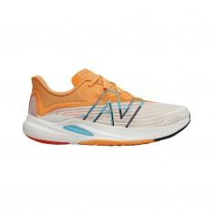 New Balance FuelCell Rebel v2 Shoes Orange Beige Blue SS21