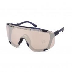 Gafas POC Devour Azul Plomo lentes Rosa Plateado