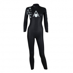Aqua Sphere Pursuit V3 Wetsuit Black White Woman