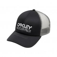 Oakley Factory Pilot Trucker Hat Black Cap