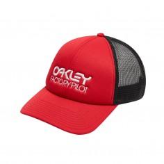 Oakley Factory Pilot Trucker Hat Red Cap