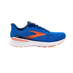 Zapatillas Brooks Launch GTS 8 Azul Blanco Naranja SS21