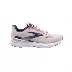 Brooks Launch GTS 8 Pink Purple White SS21 Women's Running Shoes