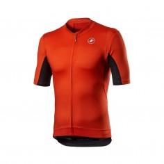 Castelli Vantaggio Short Sleeve Red Black Jersey