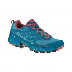 La Sportiva Akyra Shoes Garnet Blue SS21 Woman
