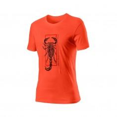 Camiseta Castelli Logo Manga corta Gris