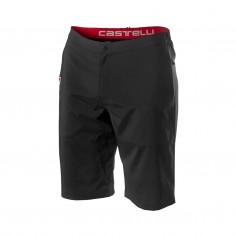Pantalón corto Castelli Milano Negro
