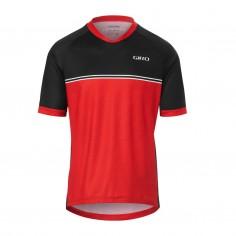 Giro Roust Long Sleeve Red Jersey