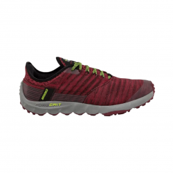 Brooks PureGrit 8 Trail Shoes Fluorescent Red Gray Man