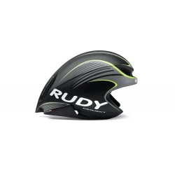 Casco Rudy Project Wing 57 Negro Amarillo Fluo