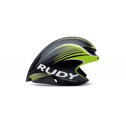 Casco Rudy Project Wing 57 Negro Lime Fluo