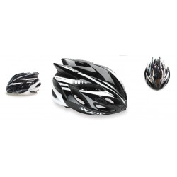 Casco Rudy Project Rush Black - White Brillante