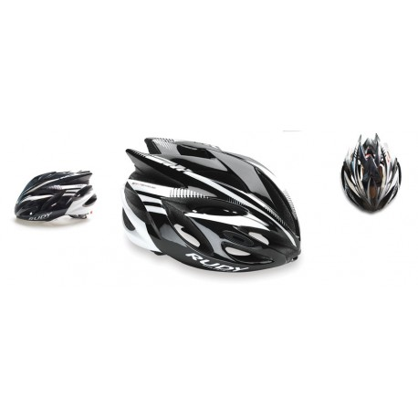 Casco Rudy Project Rush White - Silver Brillante