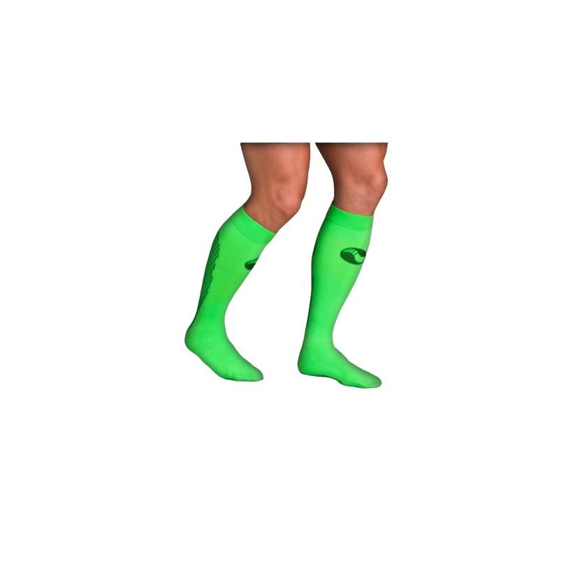 9709da03a2400 Precio reducido Calcetín Técnico de Compresión NRG Running Verde Neon