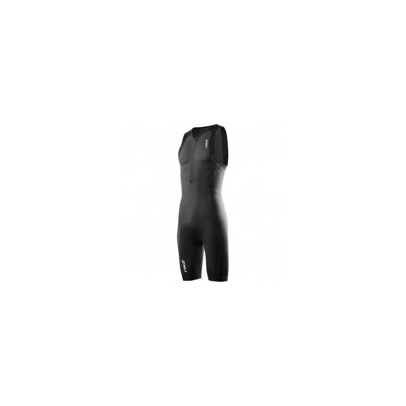 Tritraje 2XU Active Trisuit Negro con cremallera trasera