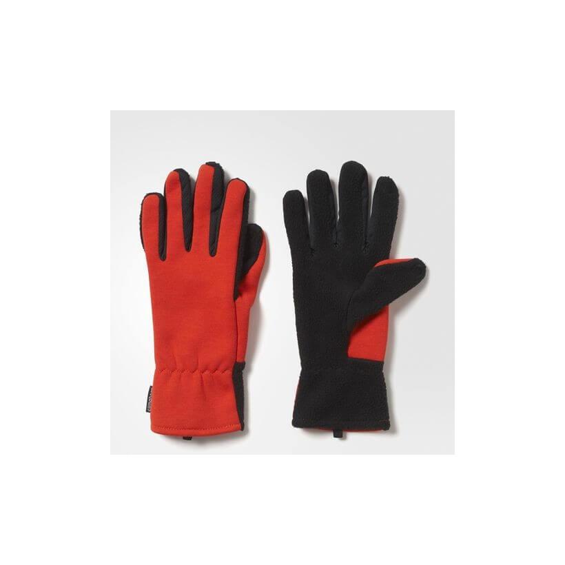 Guantes Climaheat Rojo Adidas