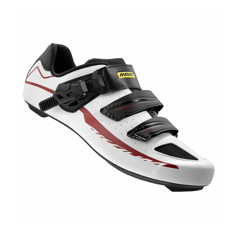 Zapatillas Ciclismo Aksium Elite Blancas