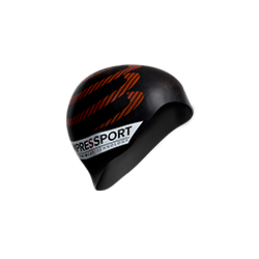 Compressport Black Swimming Cap