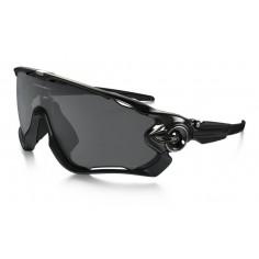 Gafas ciclismo Oakley Jawbreaker Negro Brillante Lente Negro Iridio Polarizado