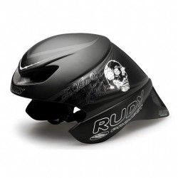 Casco Rudy Project Wingspan color Black-Diamonds mate