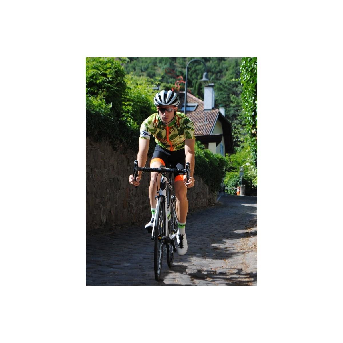 Fahrradbekleidung Q36.5 Jersey Short Sleeve R1 Flower Power Trikots