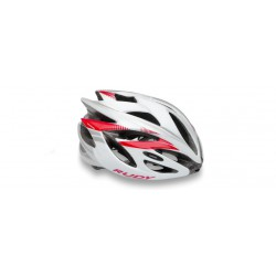 Casco Rudy Project Rush Blanco-Rubi Brillante