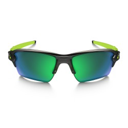 Gafas running Oakley Flak 2.0 XL Black Ink Jade Iridium Polarized