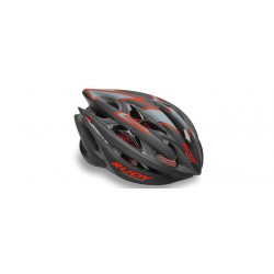 Casco Rudy Project-Sterling Negro-Rojo mate