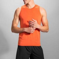 Camiseta Tirantes Brooks Distance Tank PV16 Rojo Hombre