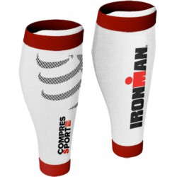 Compresoras Compressport R2V2 Ironman 2016 - Blanco/Rojo