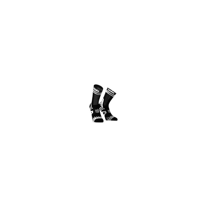 Calcetines largos Compressport Ironman Pro Racing Bike negros