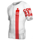 Top Tritraje Ironman TR3 Aero Compressport Rojo