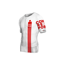 Top Tritraje Ironman TR3 Aero Compressport Blanco