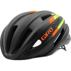 Casco Giro Synthe Lima/Naranja Negro Mate