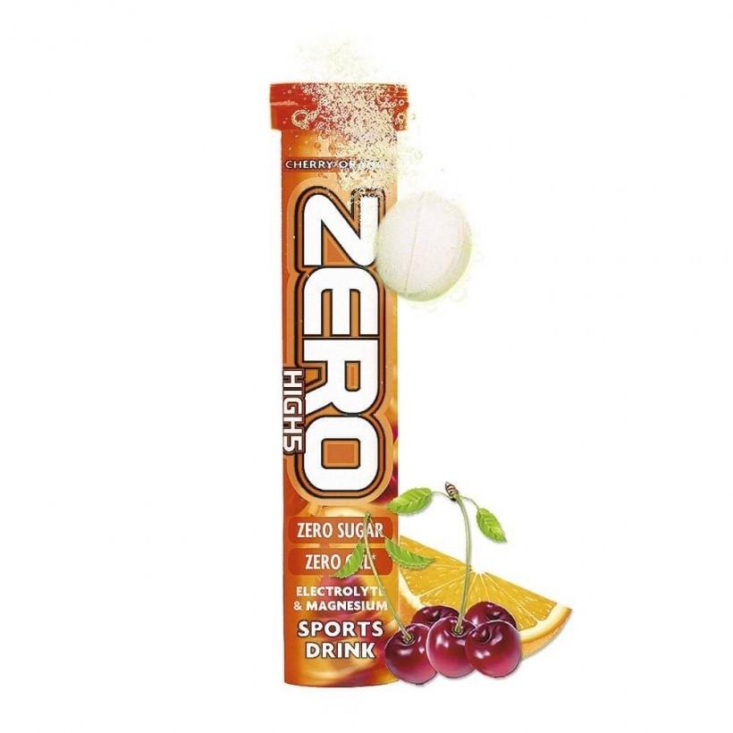 Tabletas ZERO High5 Cherry-Orange 1tubox20tabletas