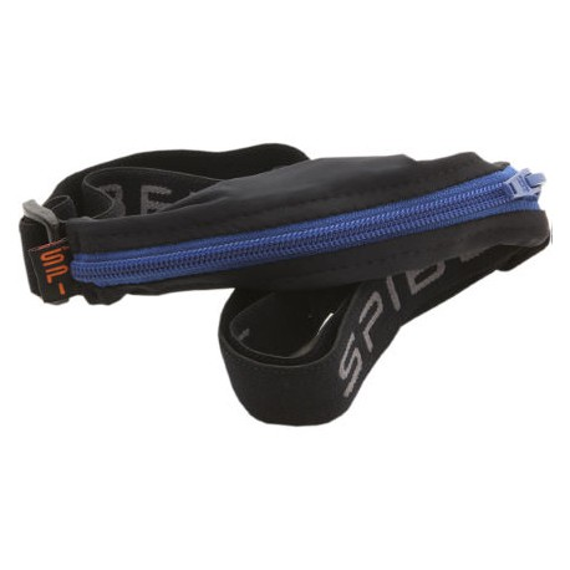 Cinturón para correr negro/azul Basic-SPIbelt