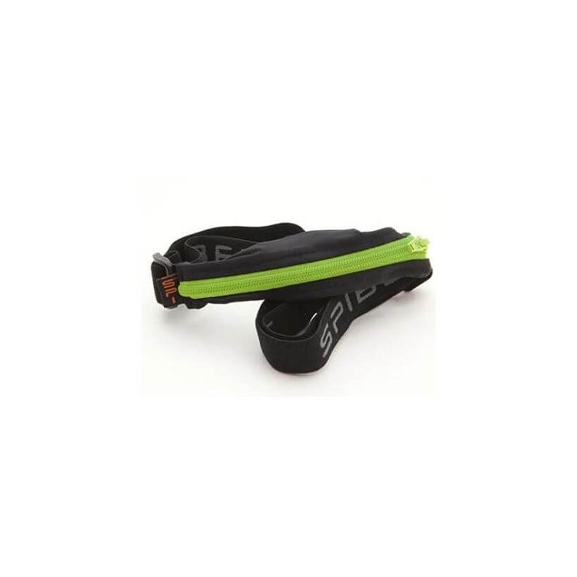 Cinturón para correr negro/lima Basic-SPIbelt