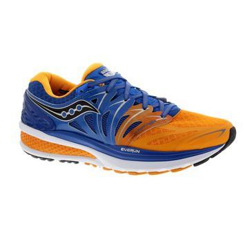 Zapatilla Saucony Hurricane ISO 2 Azul Naranja