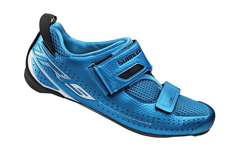 Zapatillas Triatlón Shimano TR900 Carbono Azul