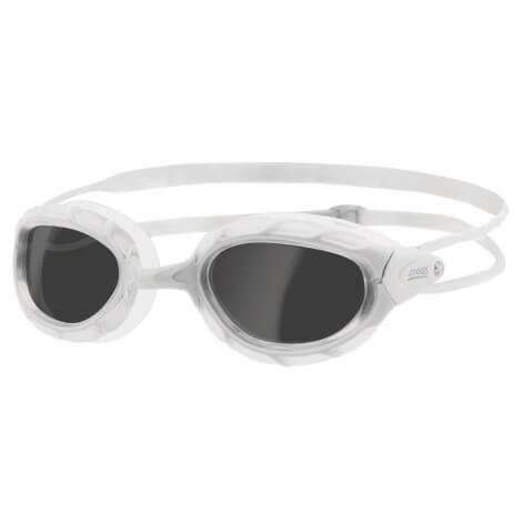 Zoggs Predator White Swimming Goggles