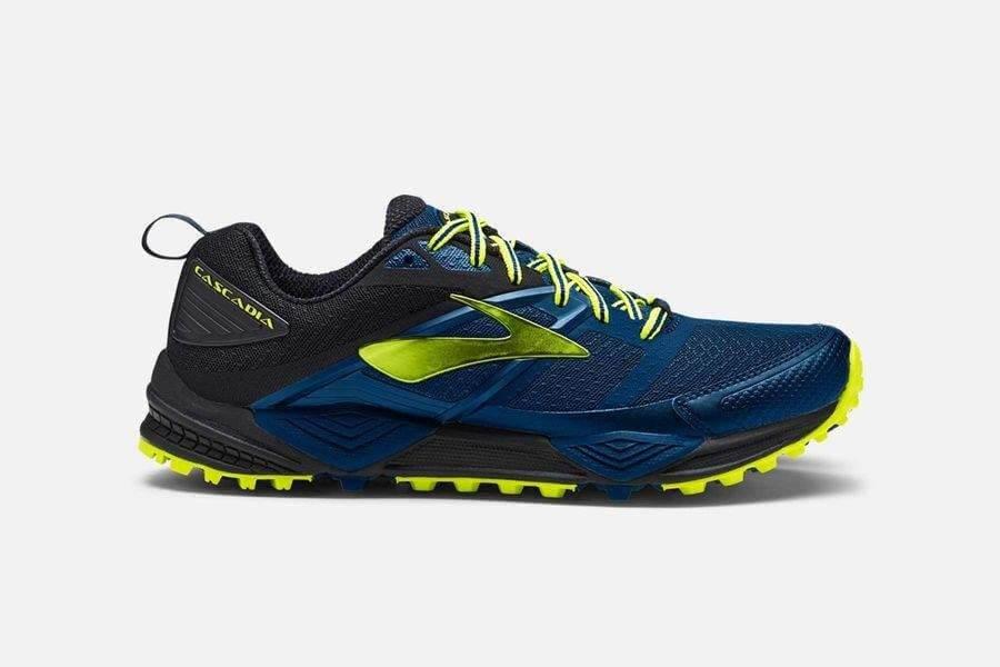 Zapatillas de trail Brooks Cascadia 12 azul/negro PV18